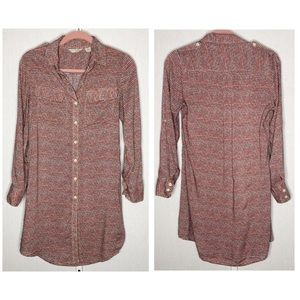 11.1.Tylho by Anthropologie Shirt Dress - Size S